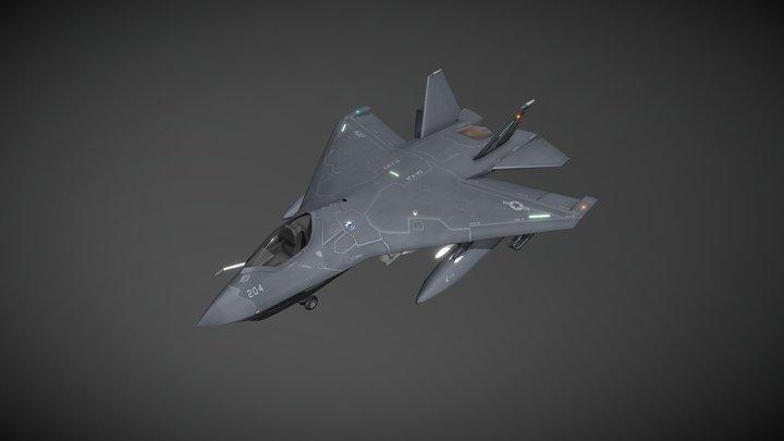 F-32C JSF CV 3D Model