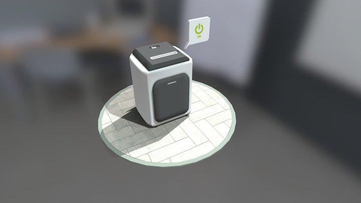 Paper Destroyer [By Numiteg] 3D Model