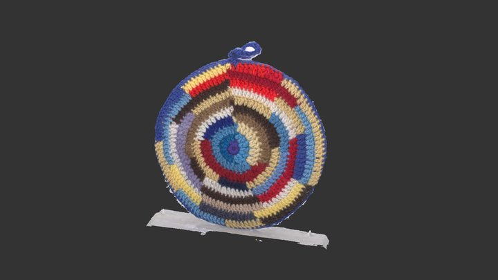 Colorful bag 3D Model