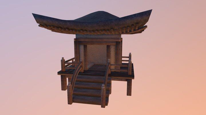 Japan shrine / temple 3D Model