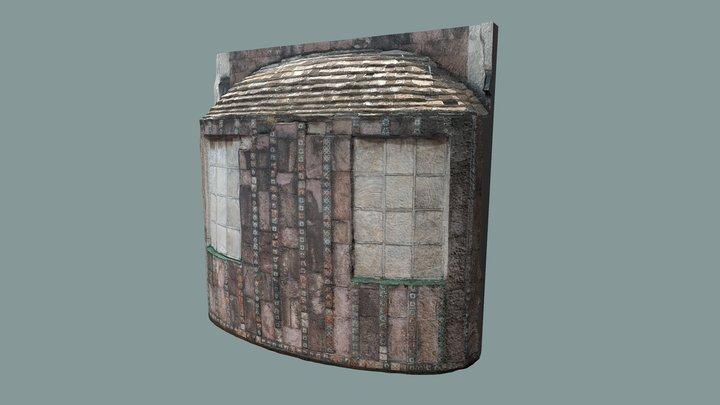 Fachada de vestíbulo-Hotel Posada del Sol - CDMX 3D Model