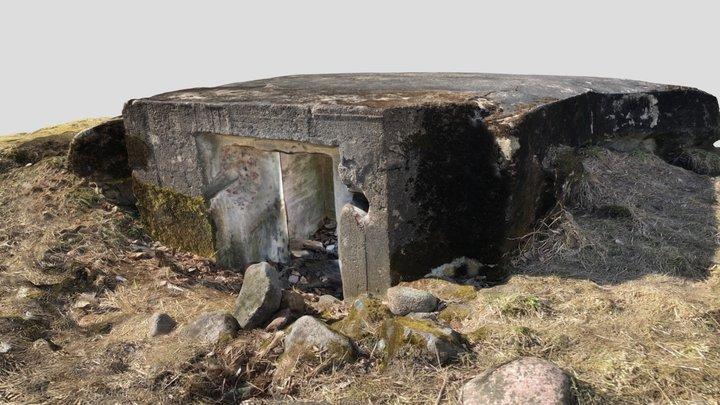 WW1 observation post, Helsinki, Finland 3D Model