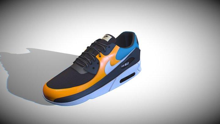 Nike Air Max 90 Premium 3D Model