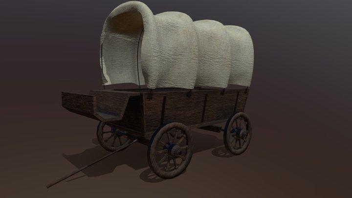 Texas cart 3D Model