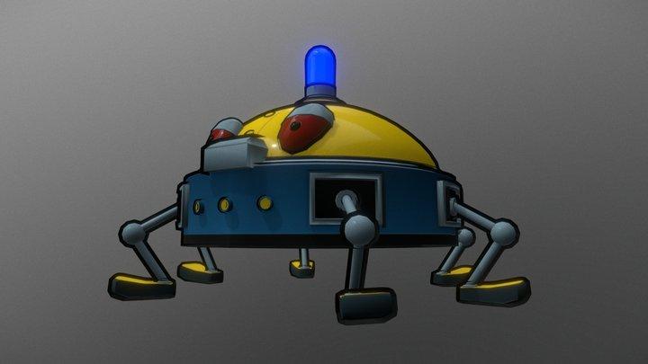Cyber Police 3D Model