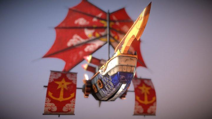 Dynasty Patrol Miniature 3D Model