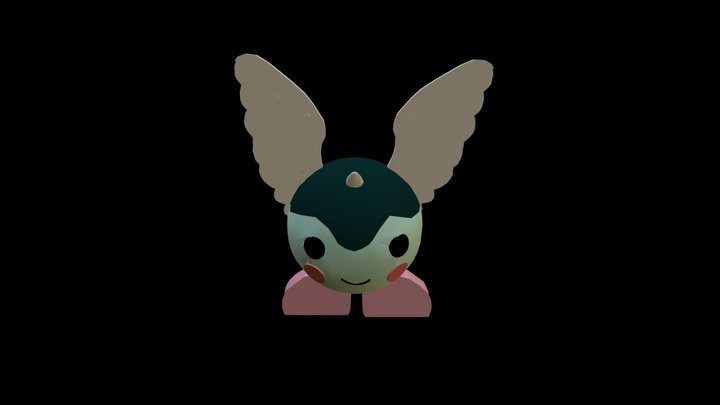 Texturized Game Doll 3D Model