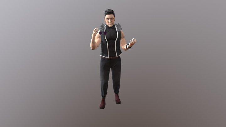 Greed Fanart 3D Model