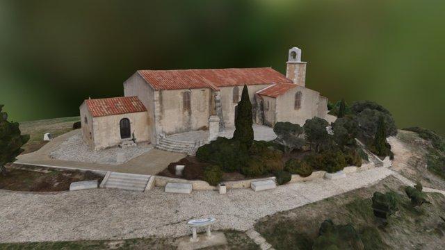 Chapelle Notre-Dame-des-Pêcheurs 3D Model