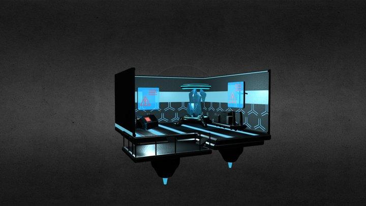 Crystal Laboratory: V2 3D Model