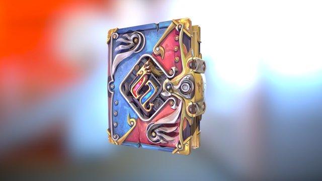RuneScape Chronicle Book 3D Model
