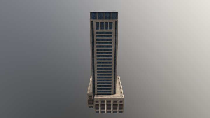 Aurora Tower Dubai 20 3D Model