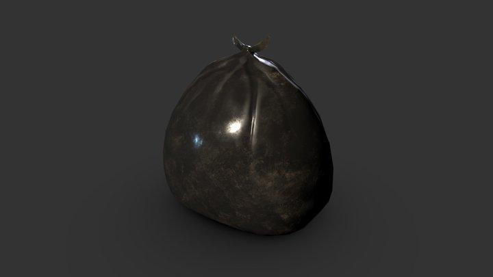 simple trash bag 3D Model