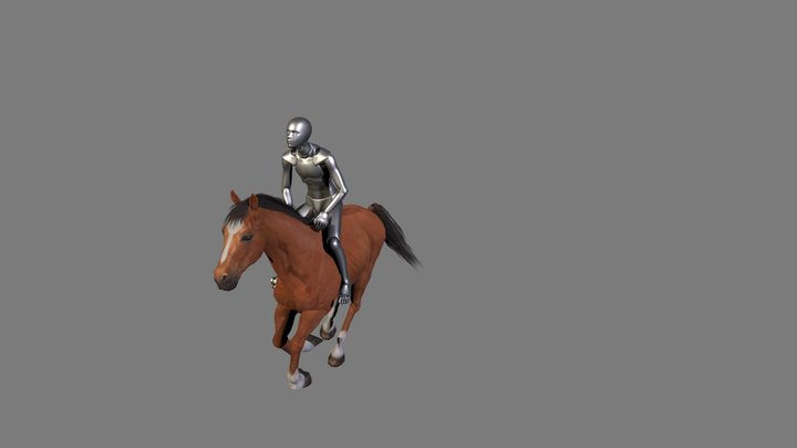 Into Canter 3D Model