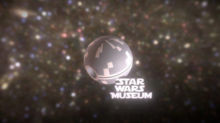 Star Wars Logo 3d 3D Model