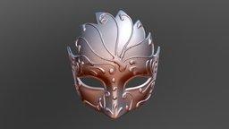 Venetian Mask 2 3D Model