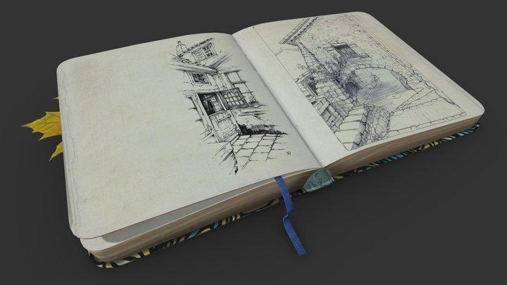 sketchbook 3D Model