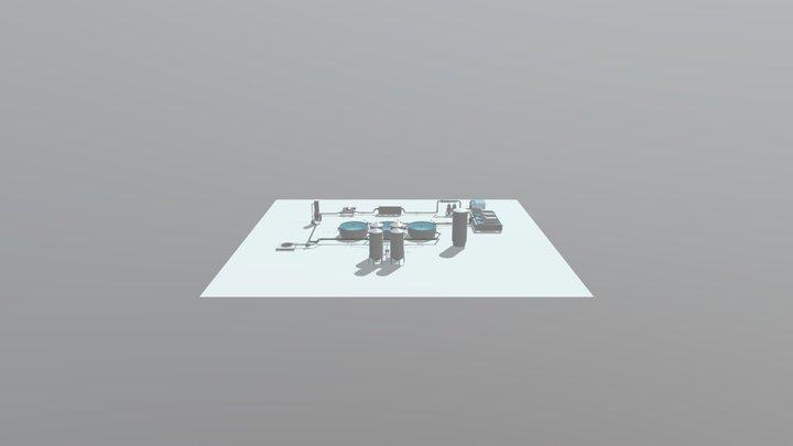 Morefish RAS 3D Model