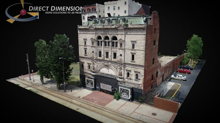 Mayfair Theatre in Baltimore, MD 3D Model