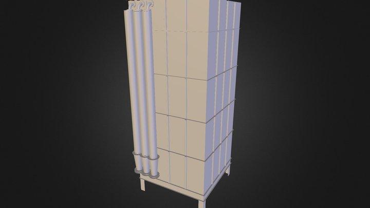 Silo 3D Model