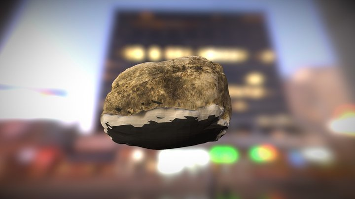 Rock 1 Test - Visualsfm toolchain 3D Model