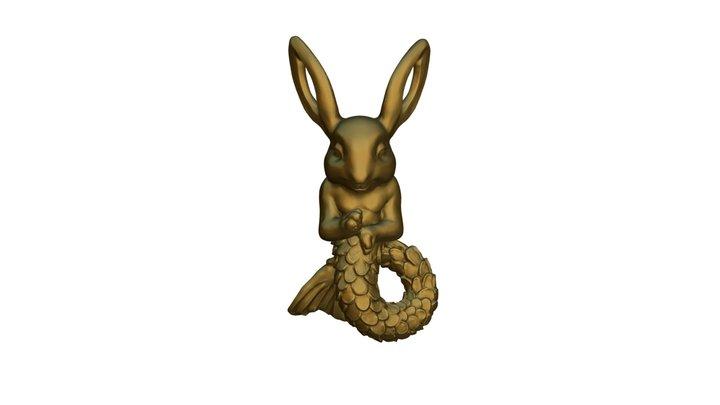 Picies Rabbit 3D Model