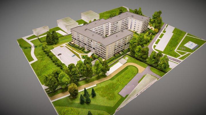 2020-05 Makieta Osiedle Cis - Euro Styl 3D Model