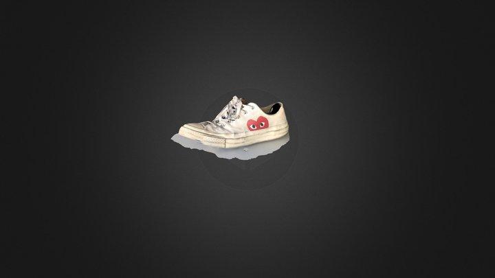 Shoe Comme des garçons 3D Model