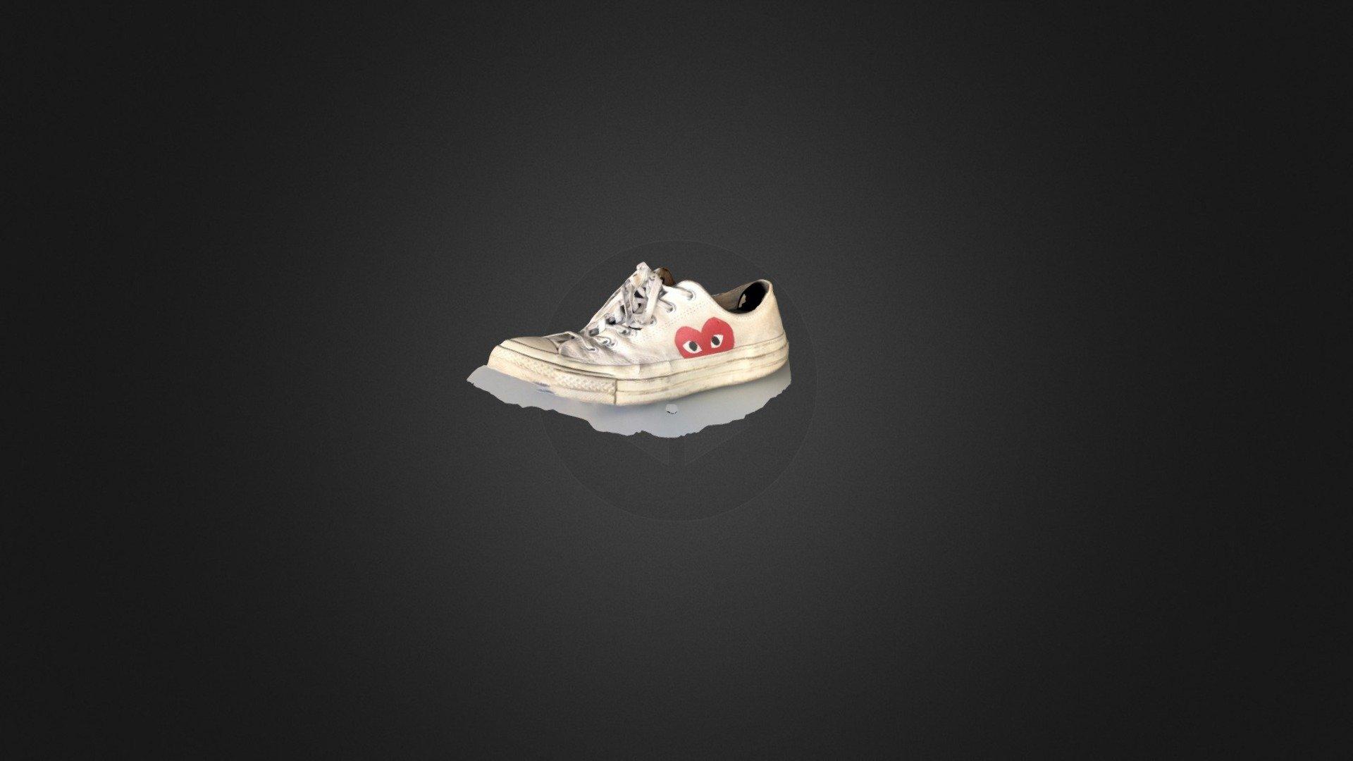 Shoe Comme Des Garçons 3d Model By Sarah At Sarah 4b4adaf