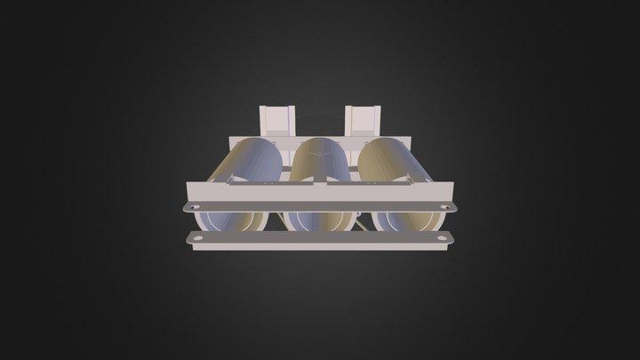 1000k V A Trafo 3D Model