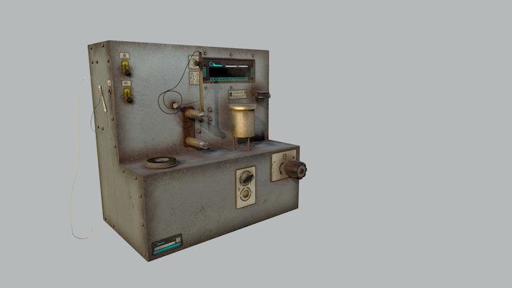 Oxidation Stability Tester (Alcor JFTOT II) 3D Model