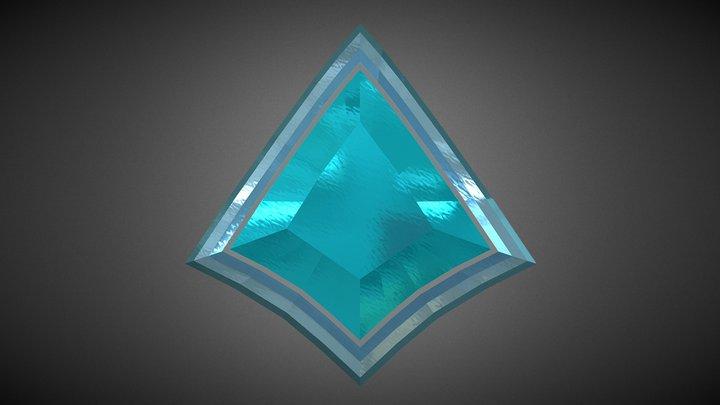 Paladins 3D Logo 3D Model