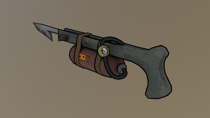 Harpoon Gun 3D Model