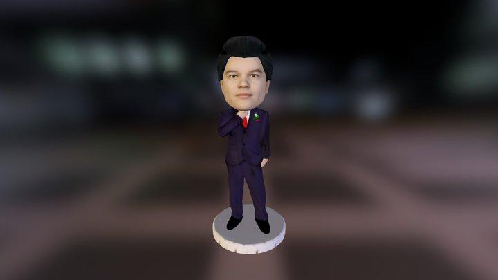 MagicKiosk - Male Shirt 3D Model