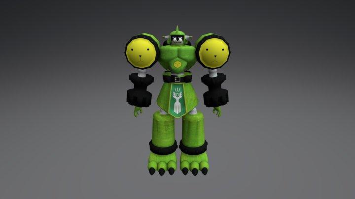 MegaGargomon 3D Model