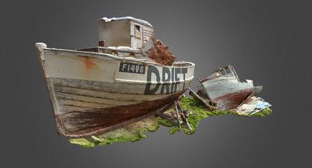 Sjarker i Vardø 3D Model