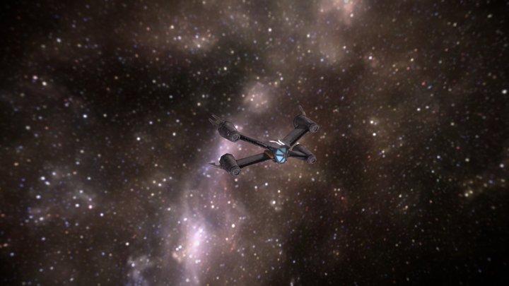 Babylon5 Starship 3D Model