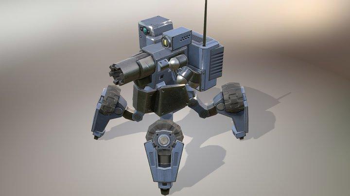 ACS-17 3D Model