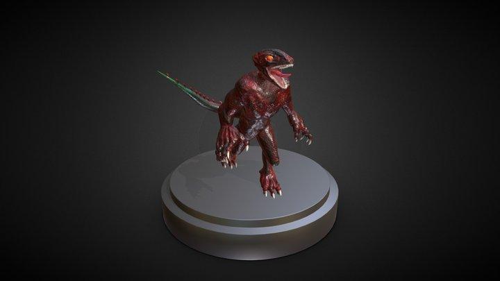 Lizard 3D Model