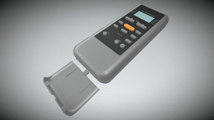 Remote Control - R51M 3D Model