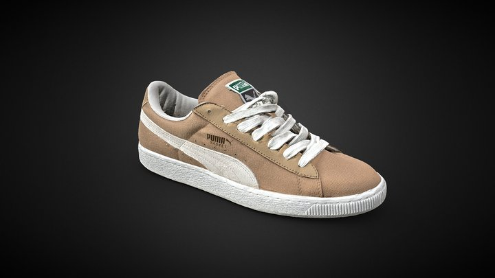 Puma Basket Shoe Sneakers 3D Scan 3D Model