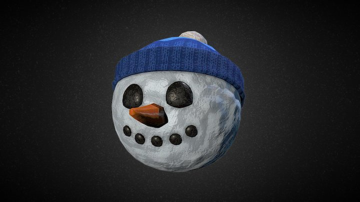 Snow Ball Man 3D Model