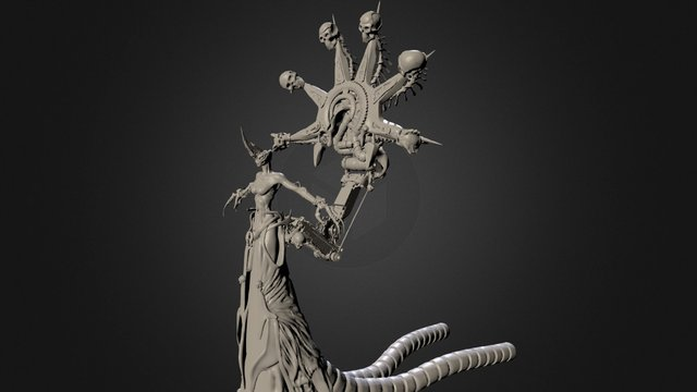 The nameless sculpt WIP 3D Model