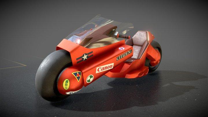 Kaneda's Bike (Akira) 3D Model