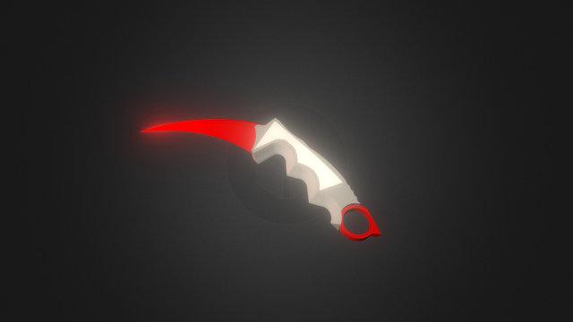 SketchUp Knife Karambit 3D Model