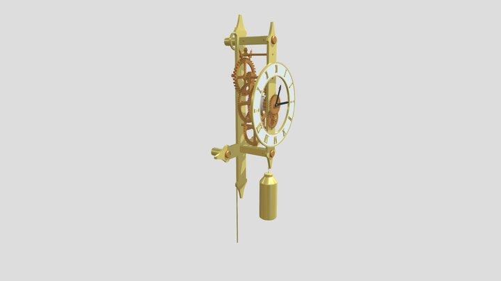 Clocks (XYZ_HomeWork_07) 3D Model