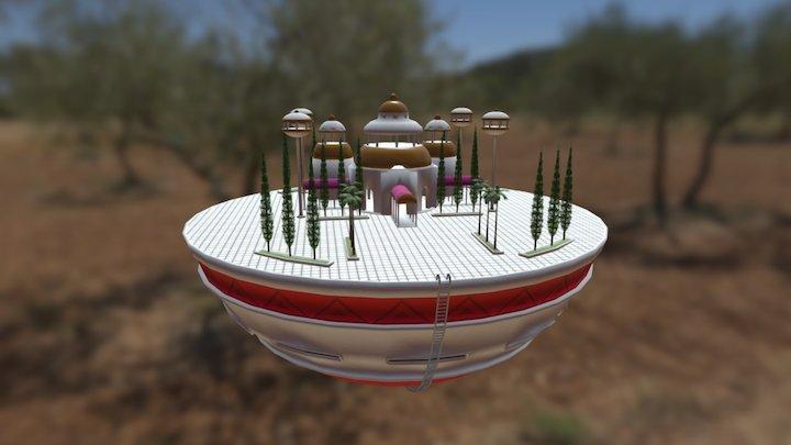 Kamisama Temple 3D Model