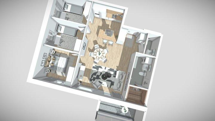 Sudenmarja A5 3D Model