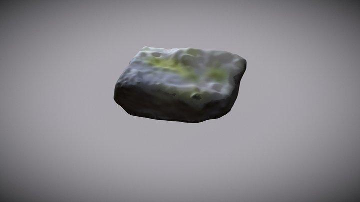 Grey Granite Stone 003, Scanned in Finland 3D Model