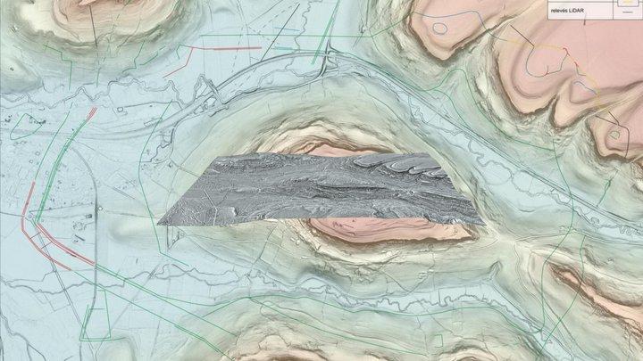 LiDAR d'Alésia - LRM 3D Model